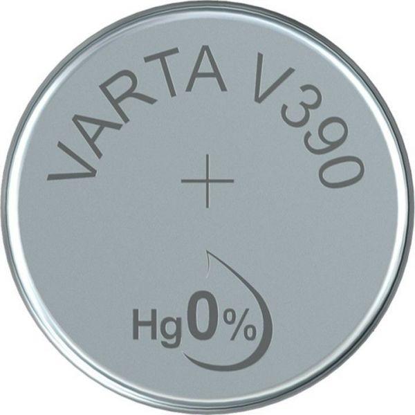 Silberoxid-Knopfzelle Typ SR54 / V390 von Varta